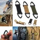 New Nylon Webbing Molle Buckle Hanging Belt Carabiner Hook C