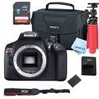 New Canon Rebel T6 SLR Camera Premium Kit  Bag, SD Card