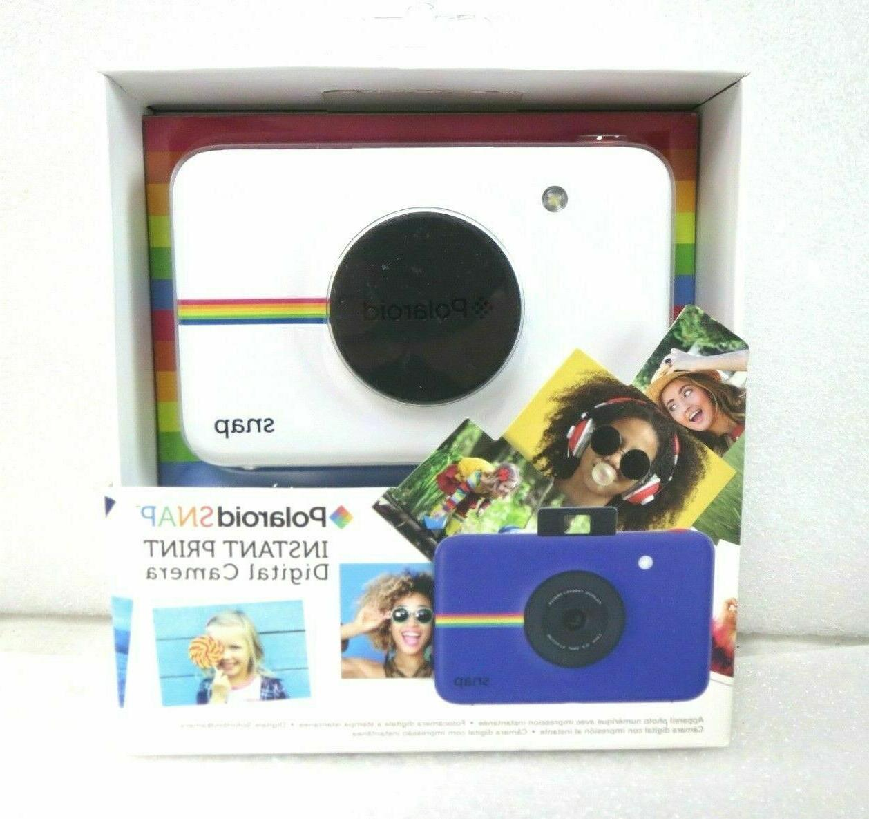 new snap instant print digital camera color