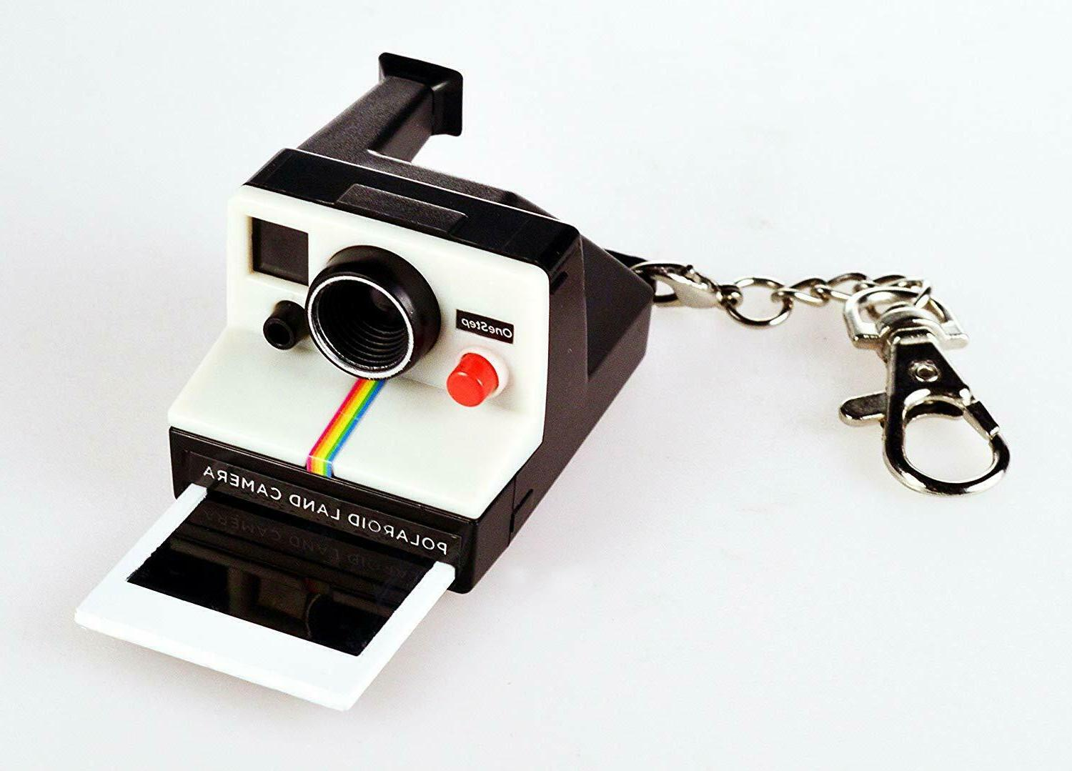 NEW COOLEST POLAROID Keychain KEY