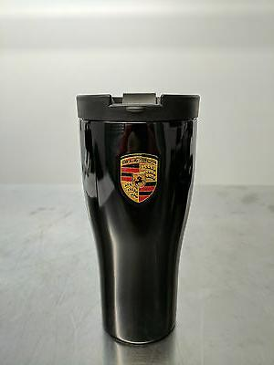 OEM Porsche Coffee Travel Mug Thermal Insulating Stainless B