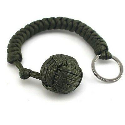 Outdoor Self Monkey Ball Keychain Gadget