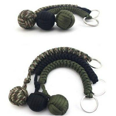 Outdoor Self Defense Monkey Keychain
