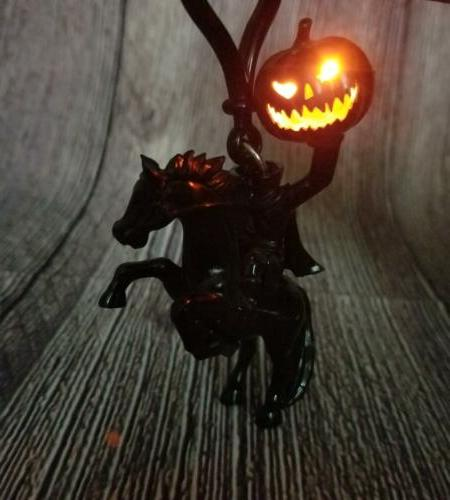 parks land halloween light up headless horseman