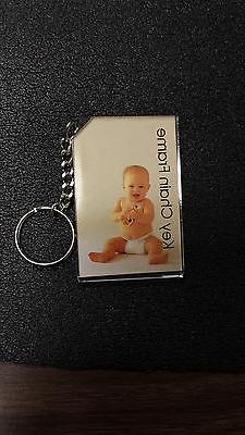 "Photo Key Chain 2X3"" Box/24 Thick Acrylic brand new sealed p"