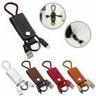 Portable Key Chain Key Ring Micro USB Charger Cable Cord for