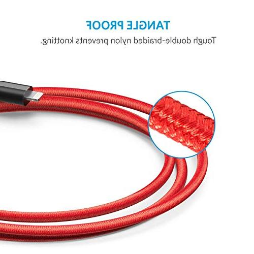 Anker Durable Fast Charging Cable Max/XR/X / 7/7 More