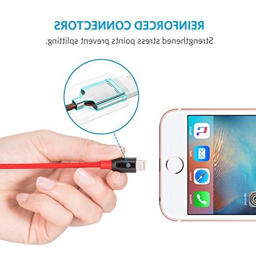 Durable Fast Charging Cable iPhone Xs/XS Max/XR/X / More