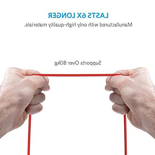 Anker Powerline+ Durable and Charging Cable Max/XR/X / More