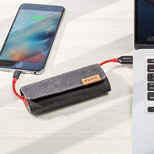Anker Lightning Cable Durable and Cable for Xs/XS Max/XR/X / and More