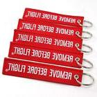 remove before flight key chain 5 pack