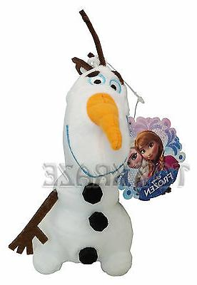 DISNEY'S FROZEN PLUSH KEY CHAIN! OLAF MAGICAL SNOWMAN WHITE