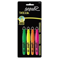 SAN20374 - Sharpie accent Accent Mini Highlighter w/Lanyard