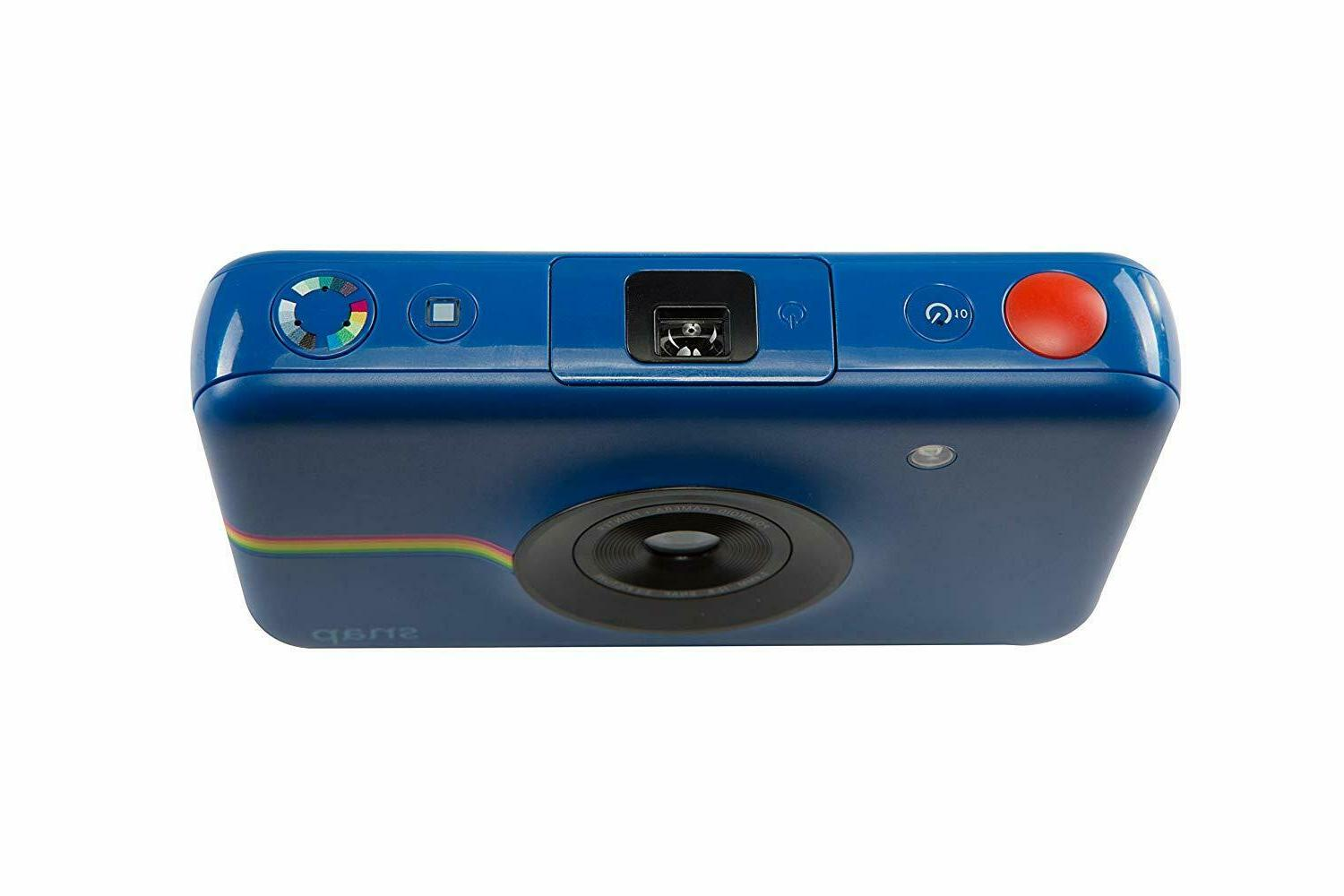 Polaroid Snap Instant Navy Camera with ZINK Zero Technology