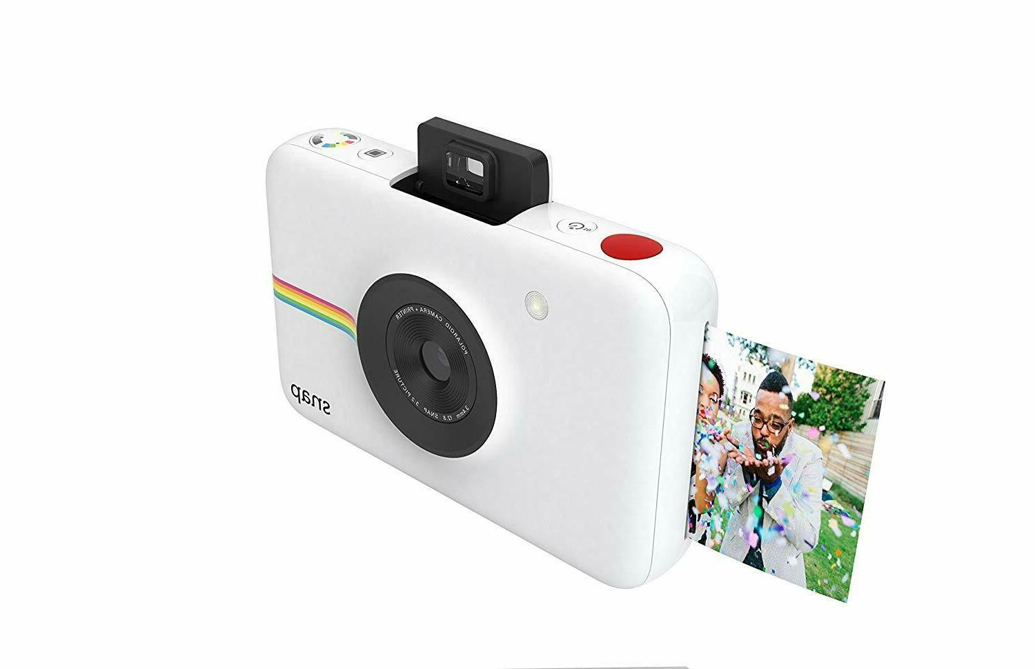 Polaroid Snap Digital White Camera with ZINK
