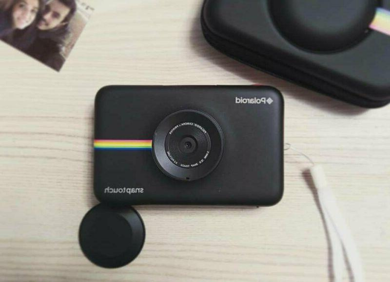 Polaroid Touch Portable Instant Print Digital Camera with Touchscreen