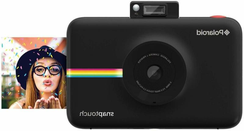 snap touch portable instant print digital camera