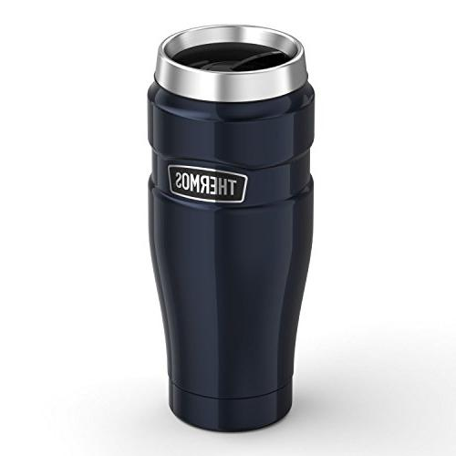 Thermos Stainless King™ Insulated Tumbler - 16 oz. Steel/Midnight