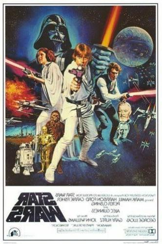 star wars classic movie posters brand new