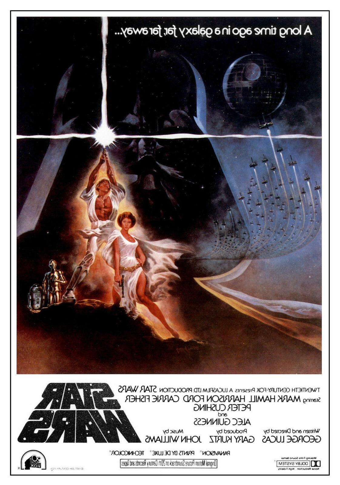 star wars movie posters classic movie artwork