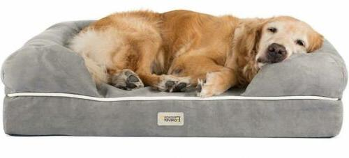 Friends Forever 100% Suede Large Dog Bed