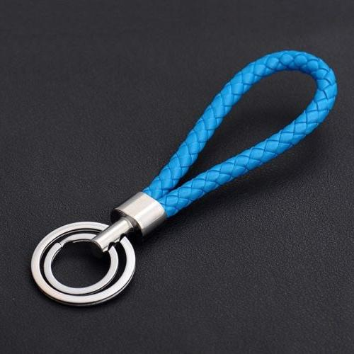 Two Circle Rope Strap Key ring chain