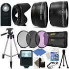 Ultimate Accessory Bundle for Canon EOS Rebel T3i T5i T6i Tr