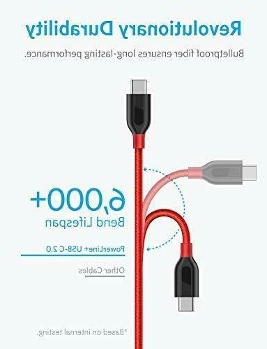 Anker USB Cable, USB-C USB-A, Double-Braided N
