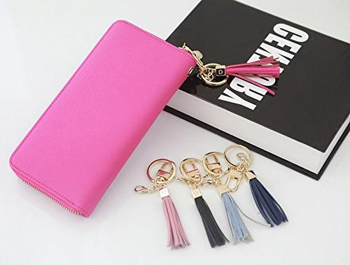Womens's Leather Women Accessories Key