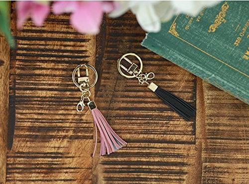 Womens's Leather Tassel Women Wallet Key