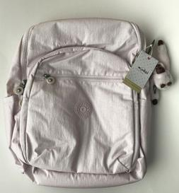 KIPLING Large Whimsical Pink Seoul Soli Backpack Laptop Bag