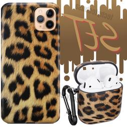 Leopard Print Shockproof iPhone 11 Pro Xs Max XR 8 Case Cove