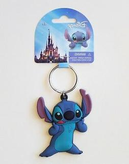 Disney - Lilo and Stitch - Stitch Soft Touch PVC Keyring/Key
