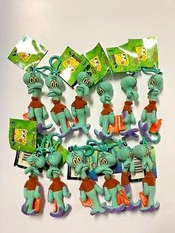 """** Lots of 12 ** Squidward 5"""" Plush Key-Chain Clip-On BRAND"""