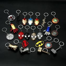 Marvel DC The Avengers Loki Metal Keychain Car Key Chain Key