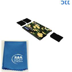 MCH-SD4YG Memory Card Holders fits 4 SD Cards Credit card si