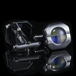 Mens Cuff Links Stainless Steel Cufflinks Wedding Novelty Si