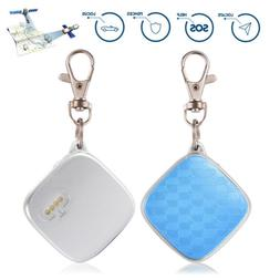 Mini GPS Tracker Key Chain Real Time Locator Kid Elerly Trac