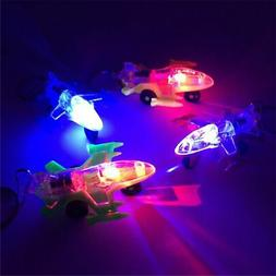 Mini Plane LED Light-Up Toys Keychain Party Favors Kids Toy