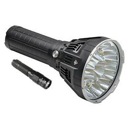 Imalent MS12 LED Rechargeable Flashlight  + Keychain Flashli
