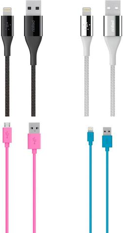 New!! Belkin 4' 1.2M Lightning to USB Charge / Sync cables