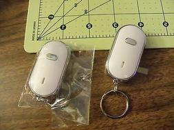 New Electronic LED Whistle Key Finder Key Chain Find Lost Ke