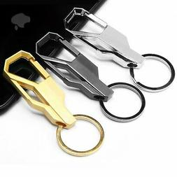NEW Mens Creative Alloy Metal Keyfob Gift Car Keyring Keycha