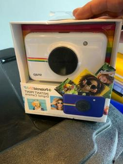 NEW POLAROID SNAP INSTANT PRINT DIGITAL CAMERA COLOR: WHITE