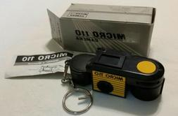 NEW Yellow Camera Micro 110 Camera Coin Box Key Chain Spy NE