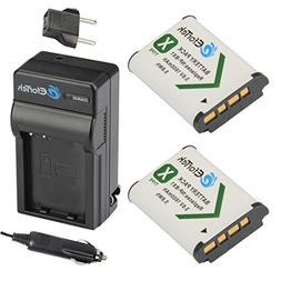 EforTek NP-BX1 Replacement Battery  and Charger kit Sony NP-