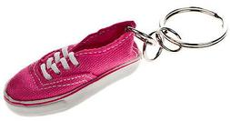 Vans Off The Wall Authentic Shoe Keychain - Pink Lightning