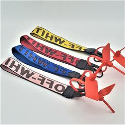 Off-White Inspired Industrial Badge ID Belt Wrist Strap 10.5