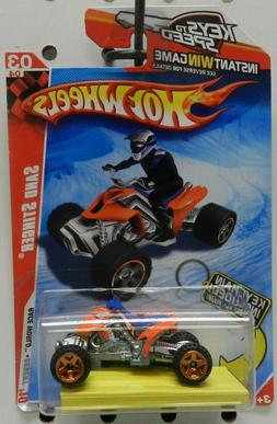 ORANGE QUAD SAND STINGER 191 4 WHEELER 2010 KEYS TO SPEED KE