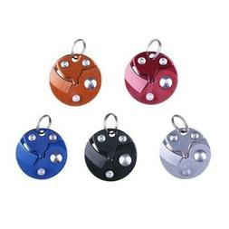 Outdoor Survival Tactical Keychain Keyring Mini Folding Pock